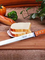 Недорогие -Инструменты для выпечки Нержавеющая сталь / Дерево Многофункциональный / Творческая кухня Гаджет Хлеб торт Cutter 1шт
