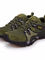 cheap -Men's Mesh Winter Comfort Athletic Shoes Hiking Shoes Army Green / Khaki