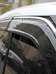 Недорогие -4шт Автомобиль Дефлекторы и щиты прозрачный Тип пряжки / Тип пасты для Автомобильное окно Назначение Honda Avancier Все года