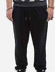 economico -Per uomo Per sport Pantaloni della tuta Chino Pantaloni - Tinta unita
