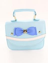 cheap -Women's Bags PU Kids' Bag Bow(s) Blue / Blushing Pink
