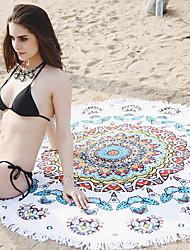 economico -Qualità superiore Telo da bagno, Fantasia geometrica / Multicolor Misto cotone 1 pcs