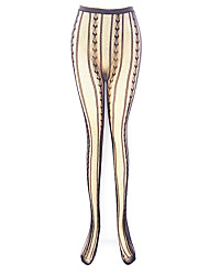 cheap -Women's Thin Pantyhose - Jacquard