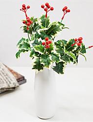 お買い得  -人工花 1 田園 スタイル / クラシック 植物 テーブルトップフラワー