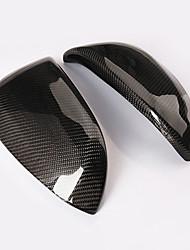 preiswerte -2pcs Auto Seitenspiegelabdeckungen Geschäftlich Einfügen-Typ For Linker Rückspiegel / Rechter Rückspiegel For Toyota RAV4 Alle Jahre