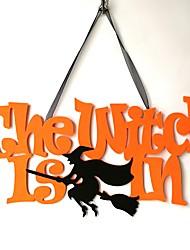 billiga -Halloween Icke vävt tyg / Icke-vävda Bröllop Dekorationer Hus Vinter