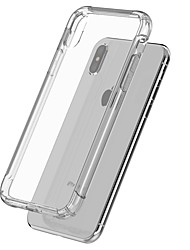 abordables -Coque Pour Apple Coque iPhone 5 / iPhone 6s Antichoc / corps Transparent Coque Couleur Pleine Flexible TPU pour iPhone X / iPhone 8 Plus / iPhone 8