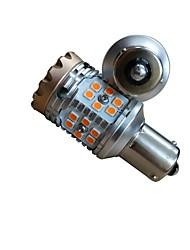 Недорогие -2pcs BA15S / T20 / 1156 Автомобиль Лампы 15W 1500lm 30 Светодиодная лампа Лампа поворотного сигнала For Универсальный Все модели Все года