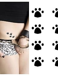 Недорогие -10 pcs Временные тату Временные татуировки Тату с животными Искусство тела рука