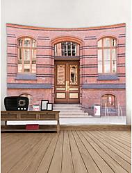 baratos -Paisagem Arquitetura Decoração de Parede Poliéster Moderna Modern Arte de Parede, Tapetes de parede Decoração