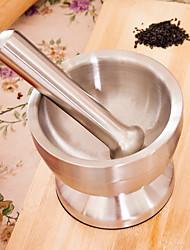 abordables -Outils de cuisine Acier inoxydable Solidité presse Creative Kitchen Gadget Ail Pour Ustensiles de cuisine Moulin broyeur Moulin 1pc