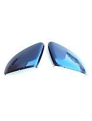 cheap -1pc Car Side Mirror Covers Business Buckle Type For Left Rearview Mirror For Volkswagen Golf 7 All years