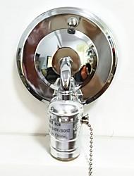 billiga -1st E26 / E27 100-240 V Bulb Accessory Järn Lampa sockel för väggljus