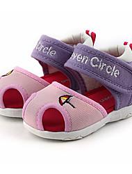 preiswerte -Mädchen Jungen Schuhe Tüll Sommer Lauflern Sandalen für Baby Draussen Fuchsia Pink Rosa Rosa und Weiss