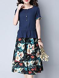 お買い得  -女性用 ブラウス フラワー スカート