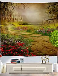 Недорогие -Праздник Декор стены Полиэстер Классика Предметы искусства, Стена Гобелены Украшение