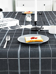 cheap -Contemporary Square Table Cloth Striped / Geometric Table Decorations 1 pcs
