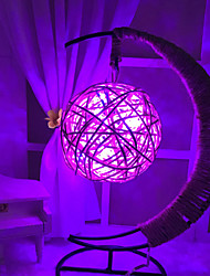 baratos -Hkv® quente branco rgb violeta azul corda de cobre luzes led estilo retro fio de cobre rodada bola iluminação festival quarto levou luz da noite