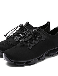 cheap -Men's Tulle Winter Comfort Athletic Shoes Walking Shoes Black / Gray / Red