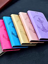 Недорогие -Кейс для Назначение SSamsung Galaxy S9 Plus / S9 Кошелек / Бумажник для карт / Флип Чехол Однотонный / Слова / выражения Твердый Кожа PU для S9 / S9 Plus / S8 Plus