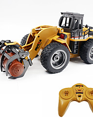cheap -RC Car 1590 6CH 2.4G Construction Truck 1:18 Brush Electric 30 km/h KM/H