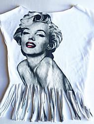 economico -Bambino Unisex Con stampe Manica corta T-shirt