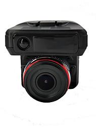 Недорогие -GT1001 720p Автомобильный видеорегистратор 140° Широкий угол 2.4inch Капюшон с Циклическая запись / GPS Автомобильный рекордер