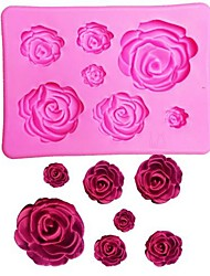 cheap -Bakeware tools Silicone Gel 3D / Valentine's Day Cake Cake Molds 1pc