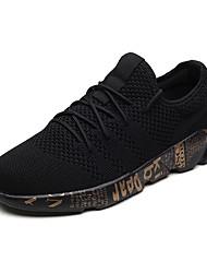 abordables -Unisexe Chaussures Toile Eté Confort / Nouveauté Basket Noir / Gris / Noir / blanc