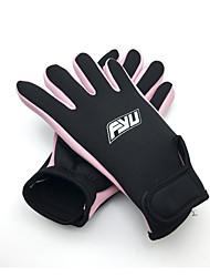 abordables -Guantes de buceo 1,5 mm Nailon / Licra Dedos completos Listo para vestir, Protector Buceo / Canotaje / Kayak