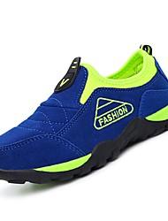 baratos -Para Meninos Sapatos Borracha Primavera Conforto Mocassins e Slip-Ons para Verde / Azul / Azul Real