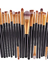 cheap -20-Pack Makeup Brushes Professional Make Up Artificial Fibre Brush Eco-friendly / Professional Plastic