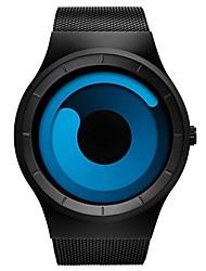 Недорогие -Муж. Модные часы Китайский Календарь / Защита от влаги / Хронометр сплав Группа На каждый день Черный / Два года / Sony SR626SW