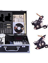 abordables -Machine à tatouer Kit de tatouage professionnel - 2 pcs Machines de tatouage, Niveau professionnel / Fait à la Main / Confortable LCD