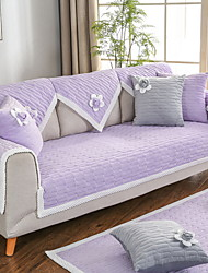 cheap -Sofa Cushion Solid Colored Yarn Dyed Polyester Slipcovers