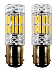 abordables -2pcs BAY15D (1157) / 1157 Moto / Automatique Ampoules électriques 5 W SMD 7020 33 LED Clignotants / Moto / Phare arrière For Universel /
