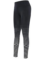 お買い得  -女性用 ランニングタイツ 速乾性 サイクリングタイツ ダイビング / ボーティング コットン ブルー / 黒 / 赤 / バーガンディー M / L / XL