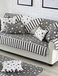 cheap -Sofa Cover Striped Quilted Polyester / Cotton Slipcovers