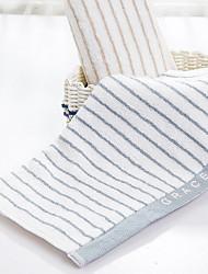 Недорогие -Свежий стиль Полотенца для мытья, Полоски Высшее качество 100% хлопок 100% Хлопчатник 1pcs