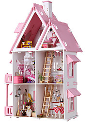 cheap -Dollhouse Large / Hand-made House 1pcs Pieces Kid's / Adults Gift