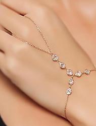 cheap -Women's Ring Bracelet - Vintage, Fashion Bracelet Gold For Date / Street