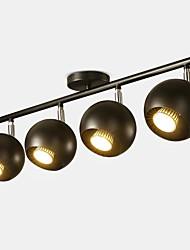 Недорогие -QIHengZhaoMing 4-Light Прожектор Рассеянное освещение 110-120Вольт / 220-240Вольт, Теплый белый, Лампочки включены / 15-20㎡