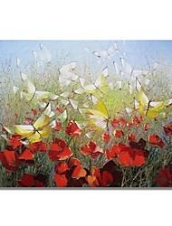 Недорогие -styledecor® современная ручная роспись абстрактной танцевальной масляной живописи на холсте для настенного искусства, готовая повесить искусство