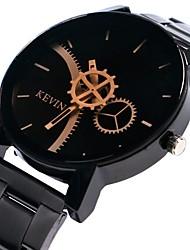 Недорогие -Жен. Наручные часы Китайский Секундомер / Крупный циферблат сплав Группа Творчество / Кольцеобразный Черный / Один год / SSUO LR626