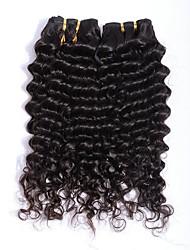 Недорогие -3 Связки Евро-Азиатские волосы Волнистый 8A Натуральные волосы Накладки из натуральных волос Естественный цвет Ткет человеческих волос Удлинитель Горячая распродажа Расширения человеческих волос Все
