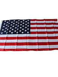 cheap -Holiday Decorations Sports Events / World Cup National Flag World The United States 1pc