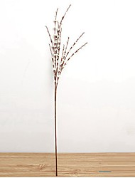 cheap -Artificial Flowers 10 Branch Rustic / Party Christmas Tree / Eternal Flower Tabletop Flower