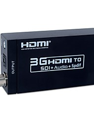 abordables -Factory OEM SNSDIA01 5 HDMI 1.3 / HDMI 1.4 2.5mm / Audio jack 3,5 mm / SDI Femelle - Femelle 1080P Long (80 à 149 cm)