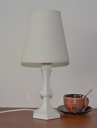 cheap -Modern / Contemporary Decorative Table Lamp For Acrylic 220-240V White Black Yellow Wood