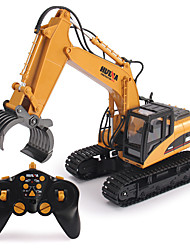 cheap -RC Car 1570 2.4G Construction Truck 1:14 Brush Electric 30 km/h KM/H